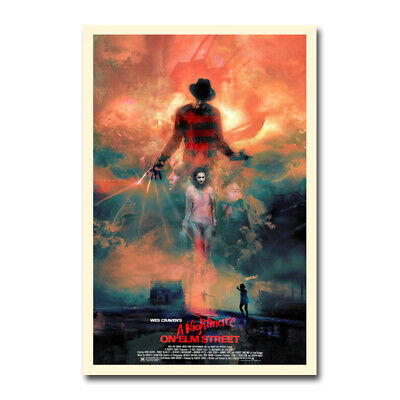 A Nightmare on Elm Street Horror Movie Silk Poster Cool Gifts Print 24x36 inch
