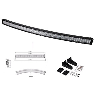 "Light bar 52"" curved Cree led"