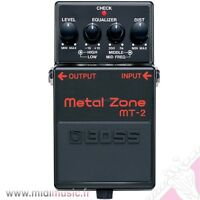 pedale boss metal zone