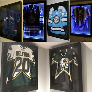Sports Shadow box jersey display case