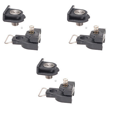 Delkim NEW D Lok Quick Release Complete Shoe & Foot Lock System x3 - DP070