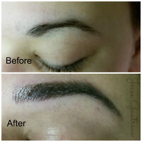 tired of drawing you're eyebrows every morning?!