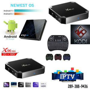 Brand New FAST Android Smart TV Boxes