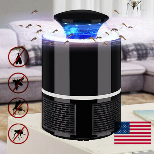 US USB Bug Insect Zapper Mosquito Killer Indoor Fly Pest Tra