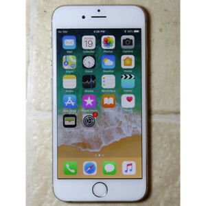 Apple iPhone 6 64GB White color unlocked used working good