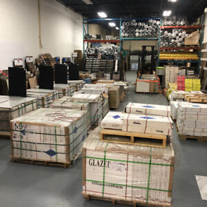PORCELAIN TILE TORONTO AND MISSISSAUGA WAREHOUSE INVENTORY SALE