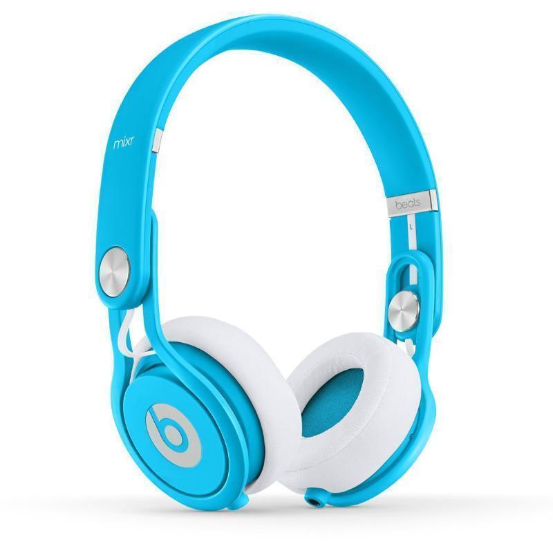 Beats by Dr. Dre Mixr Headband Headphones - Neon Blue   eBay
