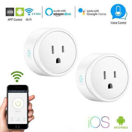 как выглядит 2019 Wireless Smart Plug WiFi Sockets Power Socket For Amazon Alexa/Google Home фото