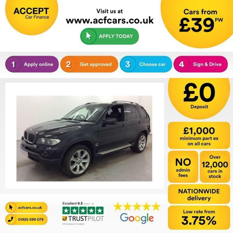 BMW X5 3.0d auto Sport FINANCE OFFER FROM £39 PER WEEK!
