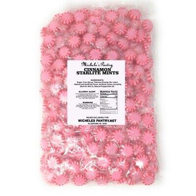 Cinnamon Starlight Mints Bulk Wrapped Candy 2 Lbs. Starlite Mints - Bulk Mints