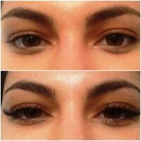 eyelash extensions & perming & tinting