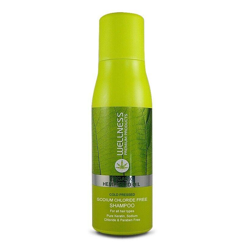 wellness organic hemp seed oil shampoo 500ml
