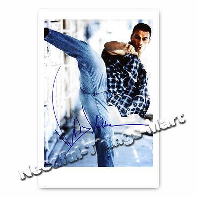 Jean-Claude Van Damme -  Autogrammfotokarte [A02] 