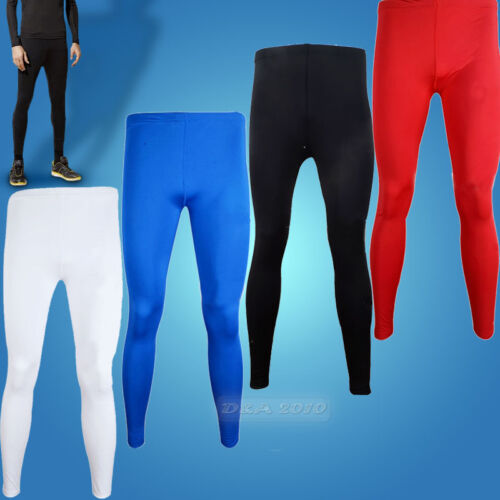 Men-Sportwear-Quick-Dry-Compression-Under-Base-Layers-Long-Pants-Tights-Leggings