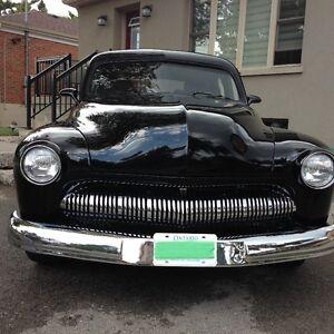 custom resto mod 1950 merc pro built