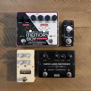Various Guitar Pedals - EHX, MXR, Empress Effects, Mooer