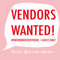Vendors Wanted: 2nd Annual : We LOVE local craft-gift show