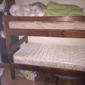 Free solid wood bunk beds