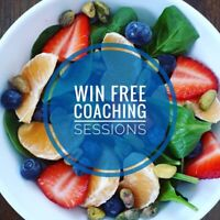 Win 12 FREE Sessions with a Health Coach!