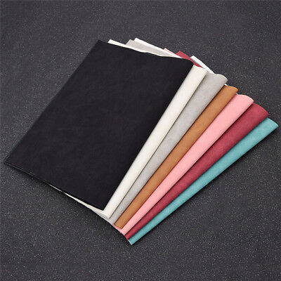 A4 Faux Suede Leather 21x29cm Fabric DIY Handbags Shoes Making Accessories Craft