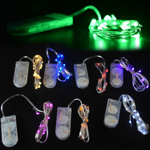 Rope Lights Malta: 10 LED Blue Battery Power Operated Copper Wire Mini Fairy