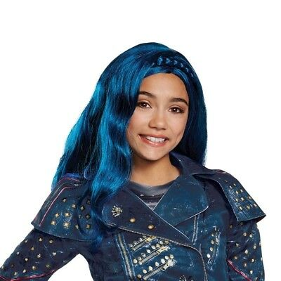 Evie Wig from Descendants 2 Movie Isle Look Blue](Girl Halloween Costumes From Movies)