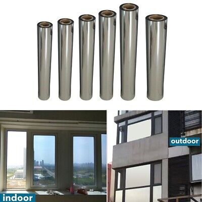 Window One Way Mirror Reflective Film Privacy Anti UV Heat Control Film - Heat Reflective Window Film
