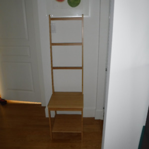 Bamboo chair from Ikea