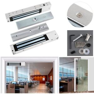 12V Door Electric Maglock Magnetic Safety Lock Electromagnetic & Access Control