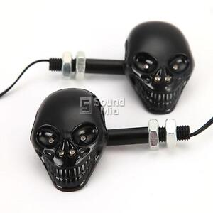 Skull-Turn-Signals-for-Triumph-America-Bonneville-Daytona-Touring-Speed