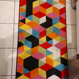 Kitchen designer rug