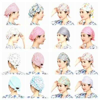 Doctor/Nurse Cartoon Pattern Women's Scrub Cap Medical Surgery Surgical Cap/Hat Scrub Hat