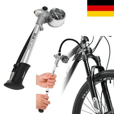 Fahrrad Gabel Dämpferpumpe 300 PSI Hochdruck  Vorderradgabel Hinterradfederpumpe