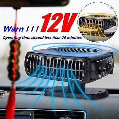 2-in-1 Portable 12V 150W Car Auto Heater Cooler Dryer Fan Defroster Demister