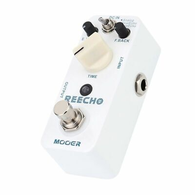Mooer Digital Delay Guitar Effect Pedal True Bypass Analog /Real Echo /Tape Echo