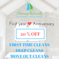 Cleaning Naturally - Residential Eco Friendly Cleaning Services