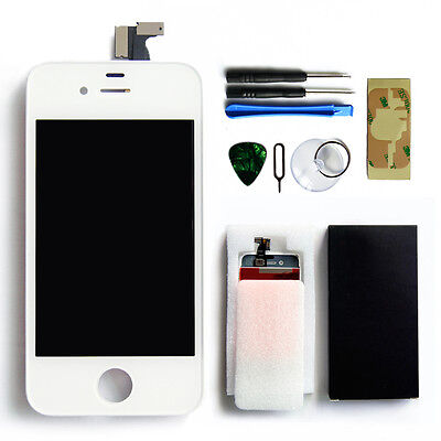 Replacement LCD Touch Screen Digitizer Assembly for AT&T GSM iPhone 4 White USA on Rummage