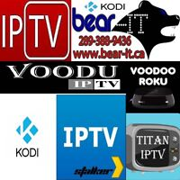 IPTV Channels from all around the globe for a low monthly fee