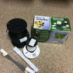 Electric Dog Fence with 2 collars
