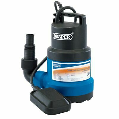 Draper 191L/Min Submersible Water Pump with Float Switch (550W) (61584)