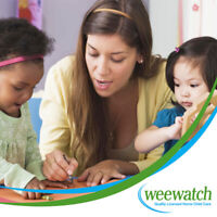 Quality Licensed Home Child Care