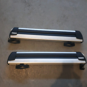 Thule 91726 pull top 6 ski and snowboard carrier