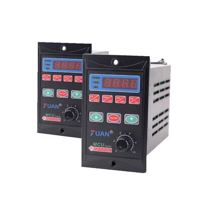 Ac110220v Single Phase Frequency Converter 2hp 750w Vfd 3 Phase Output 110220