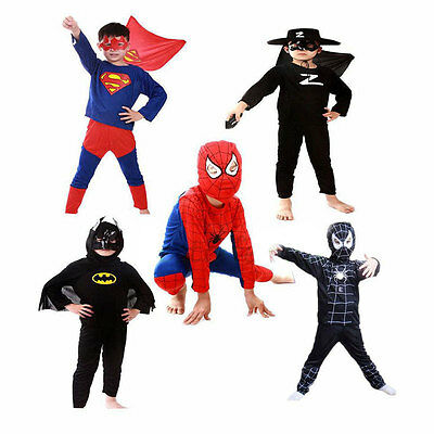 Halloween Costume Party Cosplay For Children Boys Girl Red Spider-Man Kids - Kids Spider Halloween Costume