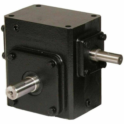 NEW! Cast Iron Right Angle Worm Gear Reducer 50:1 Ratio!!