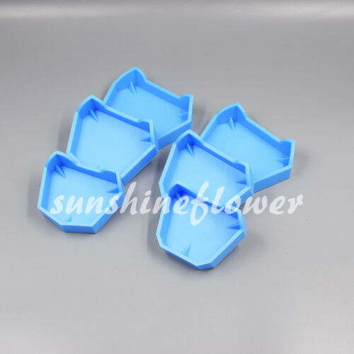3 Sets Dental Lab Model Base Former Molds for Tray Loading with Notches S/M/L