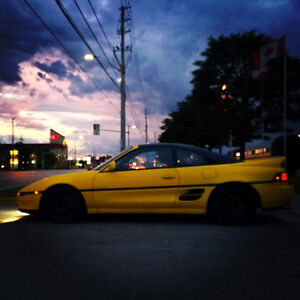 1991 Toyota MR2 Turbo T-top Coupe Canadian Car Mint Condition
