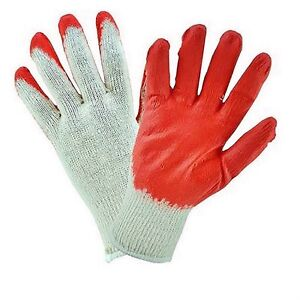 FIRM GRIP General Purpose Latex Coated Work Gloves (6 Pairs)