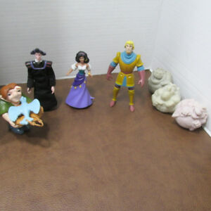 LE BOSSUS DE NOTRE-DAME LOT 7 FIGURINES DISNEY MCDONALDS