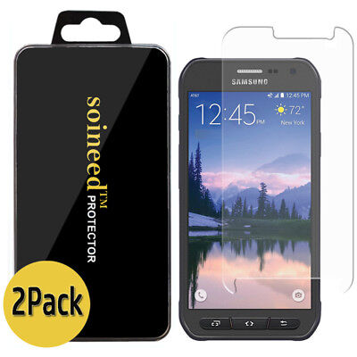 SOINEED Tempered Window Screen Protector For Samsung Galaxy S6 Active